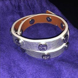 Tory Burch Silver Wrap Bracelet